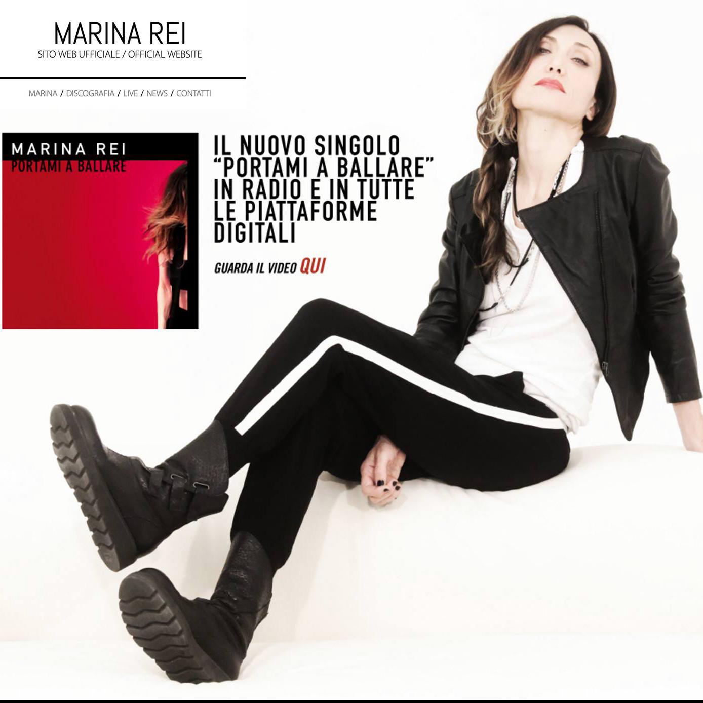 Marina Rei – Website